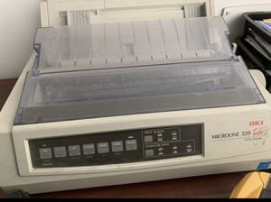 Oki MICROLINE 320 Turbo Dot Matrix Printer (91907101) for Sale in Salt Lake City, UT
