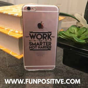 Work smarter not harder cell phone cover for Sale in Miami, FL