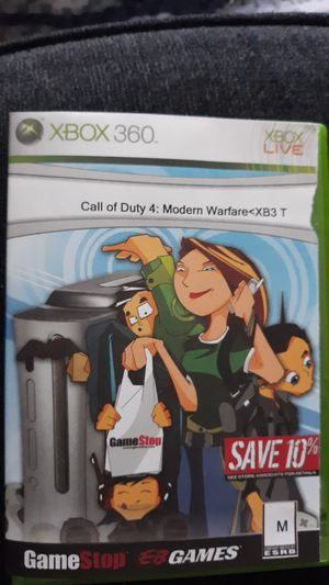 XBOX 360 Call of Duty 4 Modern Warfare for Sale in Westerville, OH
