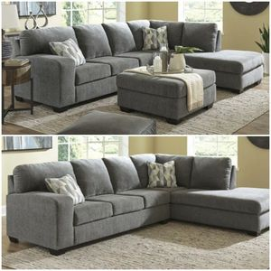 SPECIAL] Dalhart Charcoal RAF Sectional 🚚SAME DAY DELIVERY /ın stock for Sale in Silver Spring, MD