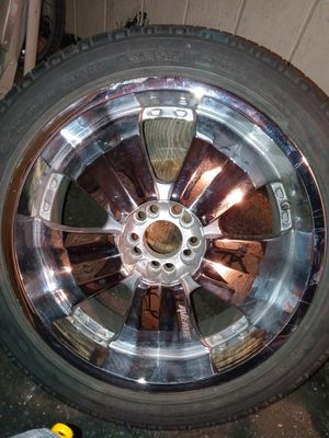 20 in rims 5 lug universal. for Sale in Kennewick, WA