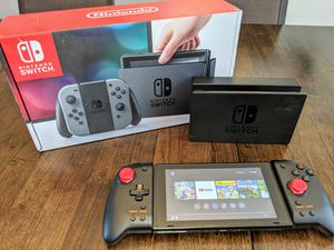 Nintendo Switch with 9 Games and Hori Joycons for Sale in Littleton, CO