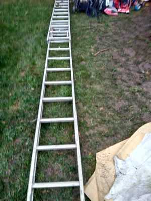 20' aluminum extension ladder for Sale in Portland, OR