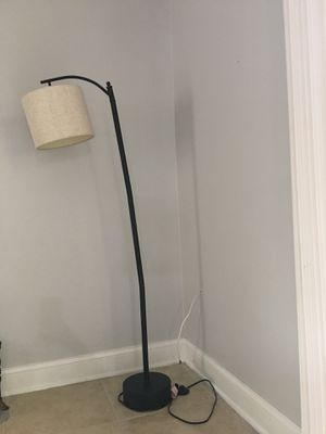 Contemporary floor lamp for Sale in TEMPLE TERR, FL