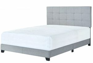 [SPECIAL] Florence Gray Uphohytlstered Queen Bed | 5270 for Sale in Beltsville, MD