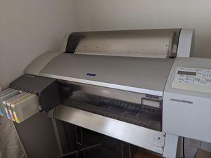Epson Stylus Pro760C prints 24 inch poster printer/plotter for Sale in Los Angeles, CA