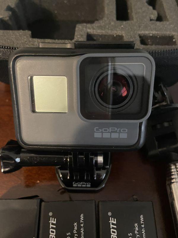 GoPro hero 5 black and accessories