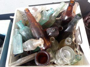 Pre-1900 glass antique bottles, mason jars, medicine bottles, etc. for Sale in Tampa, FL