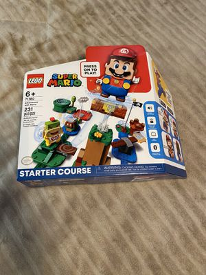LEGO Super Mario Adventures with Mario (71360) Starter Course Factory Sealed for Sale in Long Beach, CA