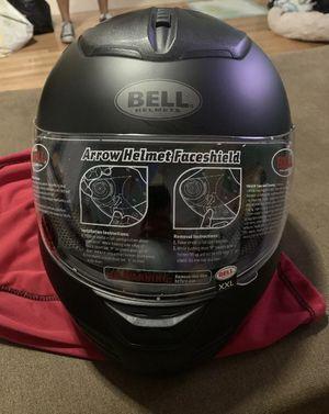 Bell Arrow flat black full face Motorcycle Snowmobile Helmet size XXL for Sale in Brooklyn, NY