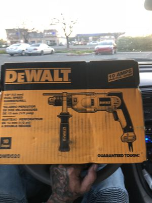 "DeWalt 1/2"" dual speed hammer drill for Sale in Stockton, CA"