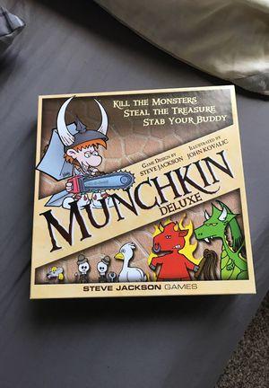 Munchkin Board game. for Sale in Gaithersburg, MD