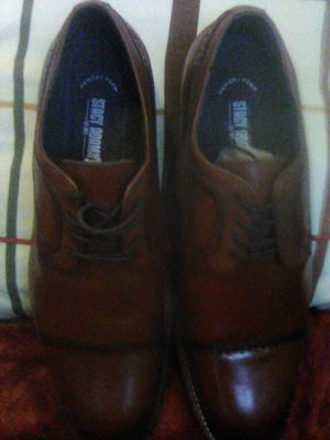 2Tone Smoke Tip men's STACY ADAMS DRESS SHOES .size 11.5 for Sale in Portland, OR