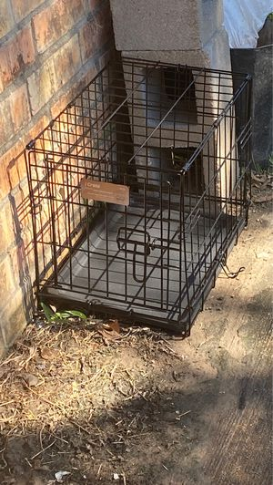 Crate for small dog for Sale in Houston, TX