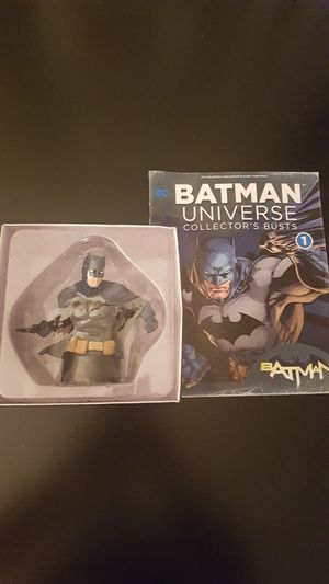 Eaglemoss DC Batman Universe Collector's Busts #1 for Sale, used for sale  Queens, NY
