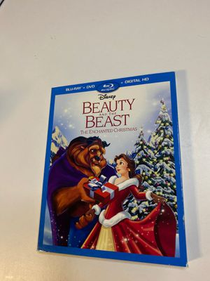 Disney's Beauty & The Beast: The Echanted Christmas DVD, Blu-Ray and Digital Copy for Sale in Englewood, NJ