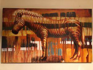 Gorgeous Zebra painting for Sale in Ashburn, VA