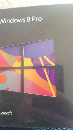 MICROSOFT WINDOWS 8 PRO. for Sale in Stockton, CA