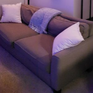 Small Grey Fabric Sofa for Sale in Elk Grove, CA