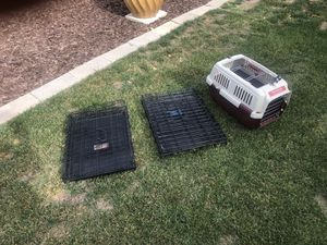 3 pet crates for Sale in Poway, CA