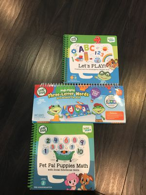 Leap Frog Leap Start Activity books for Sale in Washington, DC