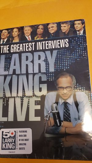 New Larry King Live - The Greatest Interviews for Sale in Washington, DC