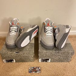 "Jordan 3 ""Cool Grey"" Brand New Sizes 12 & 13 for Sale in Mansfield,  NJ"