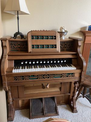 Antique restored pedal push Organ for Sale in Portland, OR