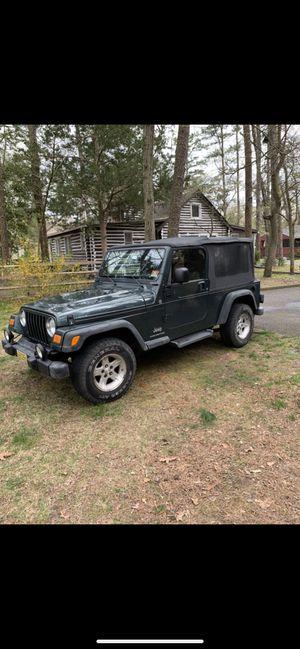2006 Jeep Wrangler for Sale in Medford, NJ
