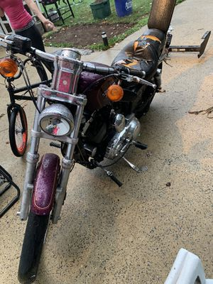 98 custom sportster Harley Davidson (body damage) for Sale in Levittown, PA