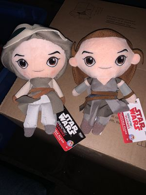 Star Wars plushies rey the force awakens the last Jedi for Sale in Weehawken, NJ