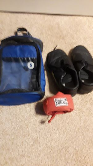 Kickboxing boxing wrist ankle weight athletic bundle lot for Sale in Naples, FL