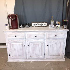 Farmhouse Buffet Bar/Coffee Bar for Sale in Goodyear, AZ