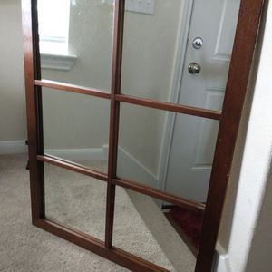 Wooden wall mirror, 77075 for Sale in Houston, TX