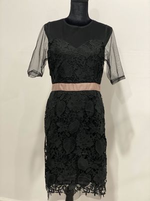 Beautiful black lace dress sale $40. Regularly $80. For wedding or party. for Sale in San Leandro, CA