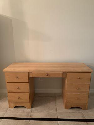 Sturdy Wooden Desk for Sale in Sarasota, FL