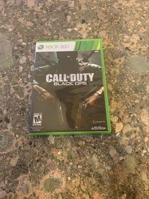 Call of Duty: Black Ops (M) XBOX 360 Action / Adventure (Video Game) for Sale in Lewisville, TX