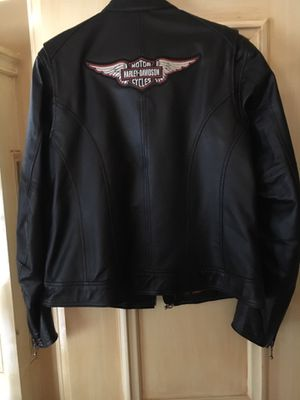 Ladies Harley Davidson leather jacket for Sale in Colleyville, TX