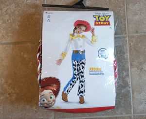 Disguise Toy Story Jessie Deluxe Costume Girls 7/8 for Sale in Addis, LA