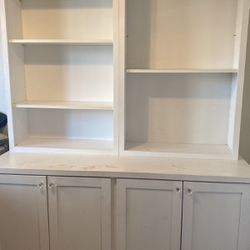 2 Shelf and Cabinet wall units with storage for Sale in Phoenix,  AZ