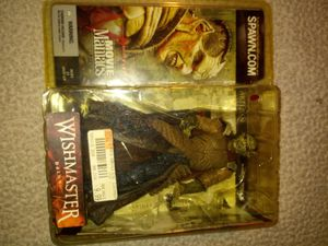 DJINN Wishmaster McFarlane Movie Maniacs series 5 action figure McFarland Toys for Sale in Tracy, CA