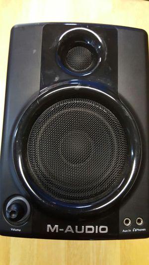 av30 m-audio studio spks for Sale in Goodyear, AZ