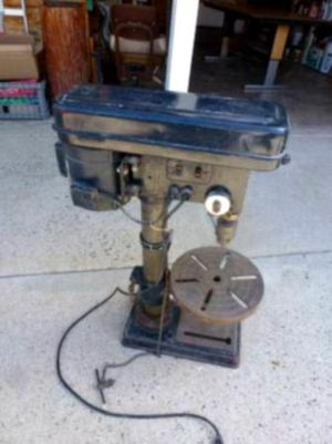 "Craftsman 10"" Bench Drill Press with Guiding Laser for Sale in Weir, KS"
