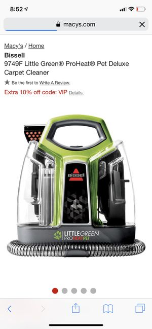 NEW Little Green Proheat Carpet/Upholstery Cleaner for Sale in Brooklyn, NY
