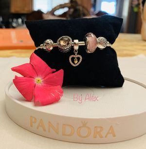 Pandora bracelet with charms for Sale in Los Angeles, CA
