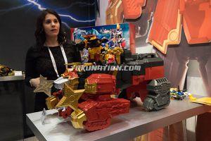 Bandai Power Rangers Ninja Steel Lion Fire Fortress Zord Figure Sideshow for Sale in Montebello, CA