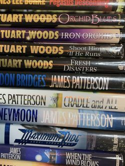 Lot of 12 Hardcover Fiction Books. for Sale in Las Vegas,  NV