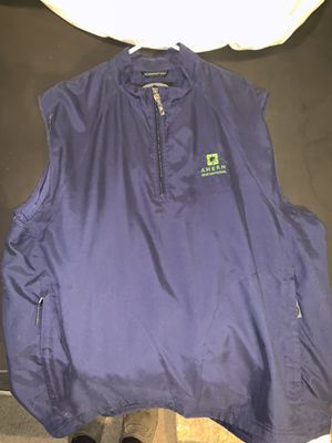 Very Nice Men's Golfing Vest Shell Jacket's Duty SIZES XL for the BLUE, XXL for the WHITE, Nice! for Sale in Phoenix, AZ