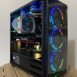 High End Ryzen 3600 RGB (VR & Cyberpunk ready) gaming/streaming pc (Fortnite 200+ FPS) for Sale in Los Angeles, CA