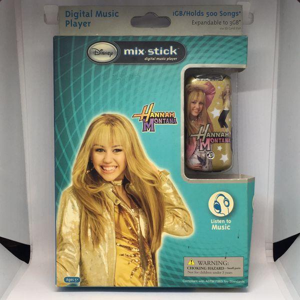Disney Hannah Montana Mix Stick Digital Music Player